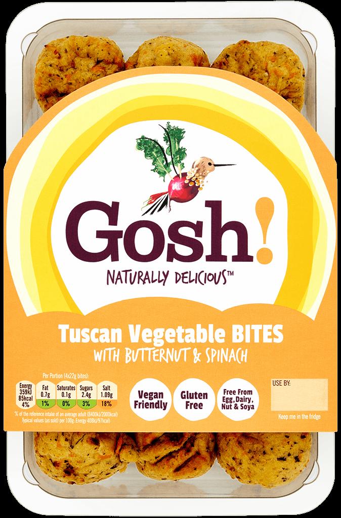 Tuscan Veg Bites