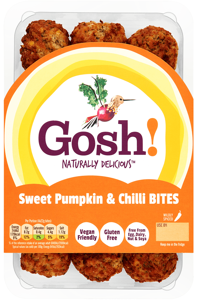Sweet Pumpkin Chilli Bites