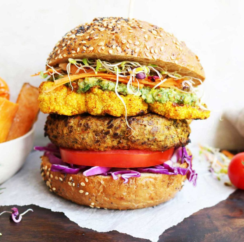 Vegan Burgers | Gluten Free Burgers | Gosh!