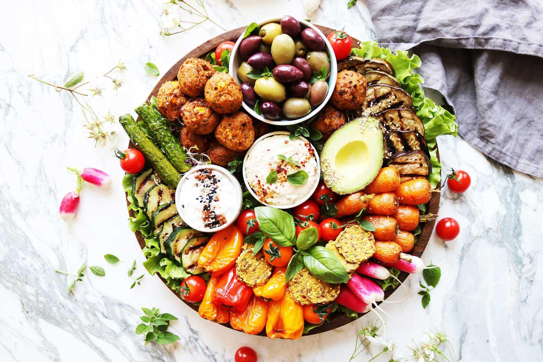 The Ultimate Veggie Mezze Vegan Vegetarian Recipes Gosh