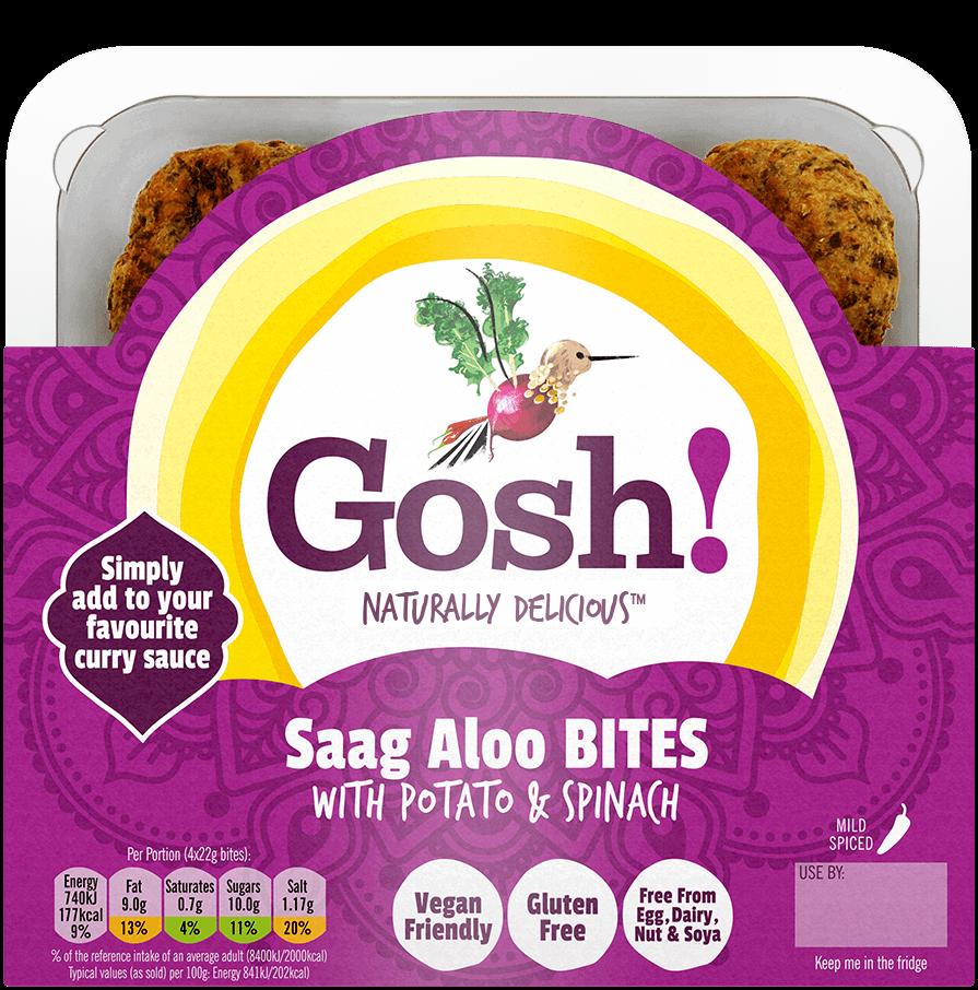 Saag Aloo Bites