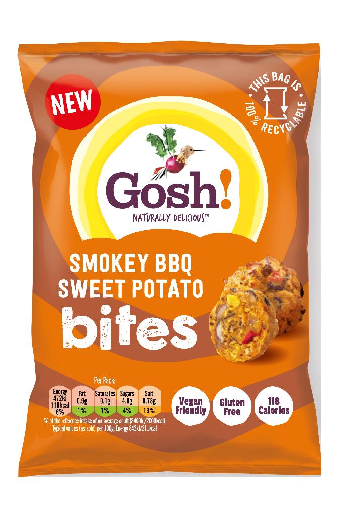 Gosh! Bites BBQ Sweet Potatoe