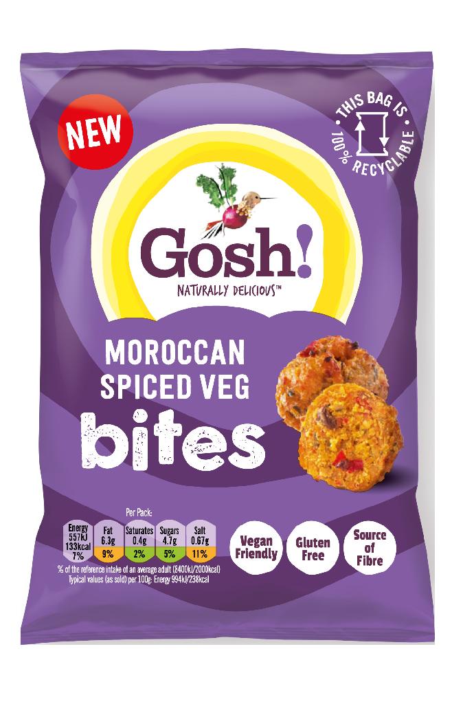Gosh Bites MOROCCAN VEG